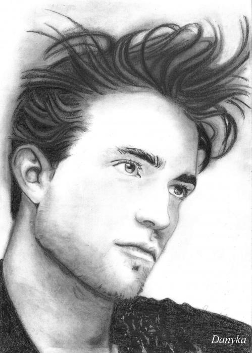 Robert Pattinson by Danyka